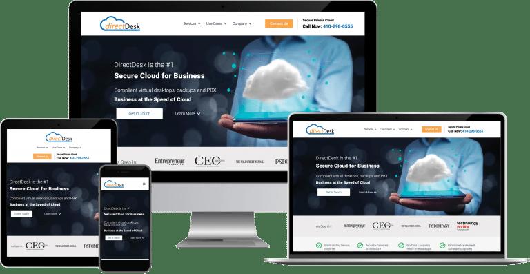 cloud services wordpress elementor web design
