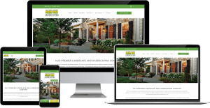 landscape design wordpress elementor web design