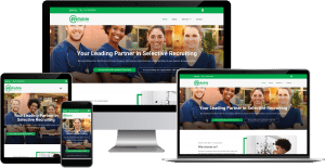 medical recruiting wordpress elementor web design