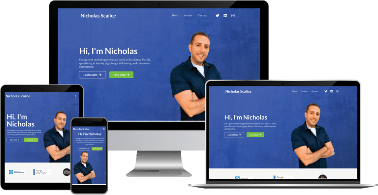 conversion consultant wordpress elementor web design