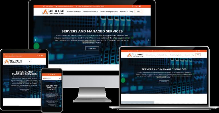Alpha Networks wordpress web design