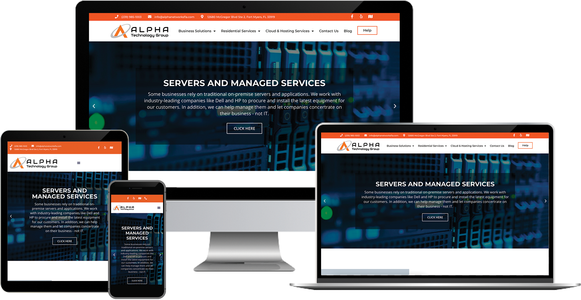 Alpha Networks wordpress web design