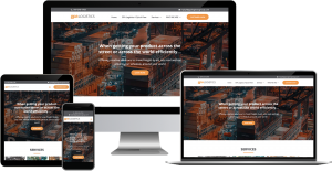 gpa logistics wordpress web design